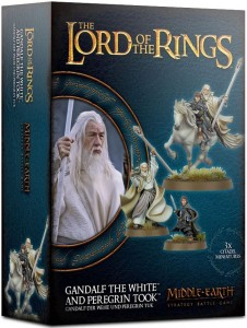 The Lord of the Rings: Gandalf the White and Peregrin Took
