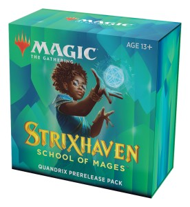 Strixhaven: School of Mages Quandrix Prerelease Pack + 2 Draft Boostery