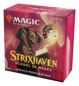 Strixhaven: School of Mages Lorehold Prerelease Pack + 2 Draft Boostery