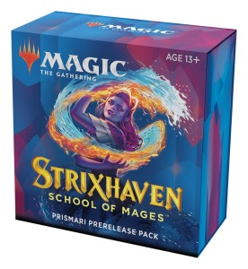 Strixhaven: School of Mages Prismari Prerelease Pack + 2 Draft Boostery