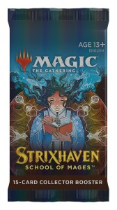 Magic The Gathering: Strixhaven - School of Mages - Collector Booster