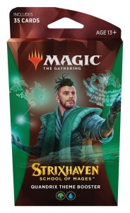 Magic The Gathering: Strixhaven - School of Mages - Theme Booster - Quandrix