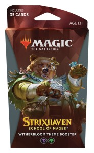 Magic The Gathering: Strixhaven - School of Mages - Theme Booster - Witherbloom