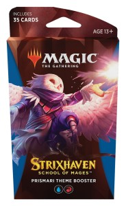 Magic The Gathering: Strixhaven - School of Mages - Theme Booster - Prismari