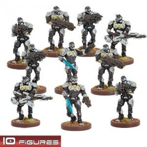Enforcers Strike Section (10 figurek)