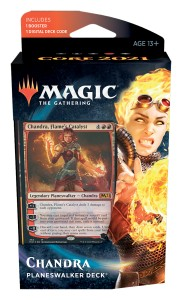 MtG: Core Set 2021 Chandra Planeswalker Deck