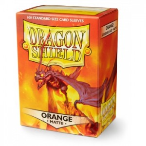 Dragon Shield Matte Orange (100 szt.)