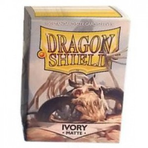 Dragon Shield Matte Ivory (100 szt.)