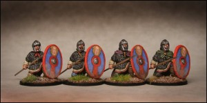Late Roman Infantry Kneeling