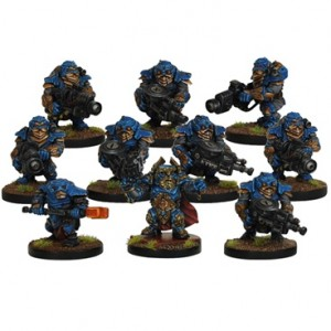 Forge Fathers Stormrage Veteran Section (10 figurek)