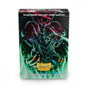 Dragon Shield Japanese (59x86mm) Art Sleeves - Blood Eyes (60 Sleeves)