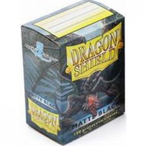 Dragon Shield Matte Black (100 szt.)
