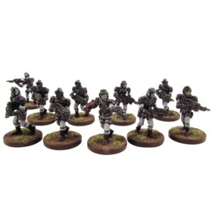 Corporation Marines Section (10 figurek)