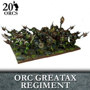 Orc Greatax Regiment (20 figurek)