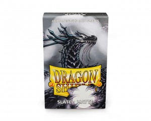 Dragon Shield Japanese (59x86mm) Art Sleeves - Matte Slate (60 Sleeves)