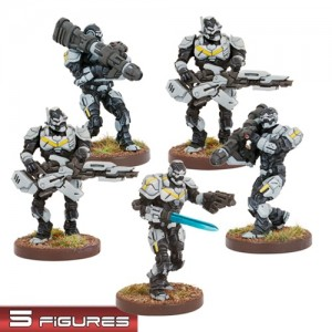 Enforcers Suppression Team (5 figurek)