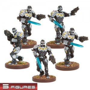 Enforcers Assault Team (5 figurek)