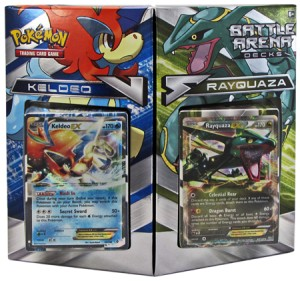 Pokemon - Battle Arena Decks Rayquaza vs. Keldeo