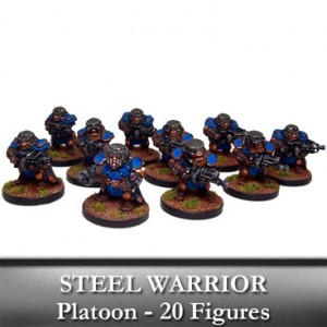 Forge Fathers Steel Warrior Platoon (20 figurek)