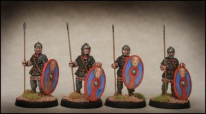 Late Roman Infantry Standing