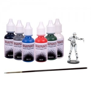DreadBall - Paint Set 6 Colours and Brush