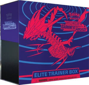 Pokemon Darkness Ablaze Elite Trainer Deck