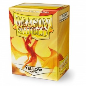 Dragon Shield Matte Yellow (100 szt.)