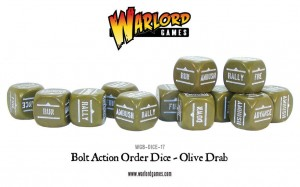 Orders Dice - Olive Drab