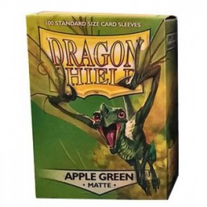 Dragon Shield Matte Apple Green (100 szt.)