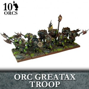 Orc Greatax Troop (10 figurek)