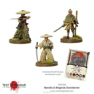Test of Honour - Bandits and Brigands Swordsmen Blister