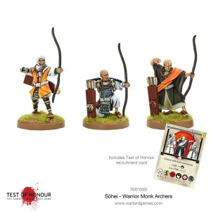 Sōhei Warrior Monk Archers