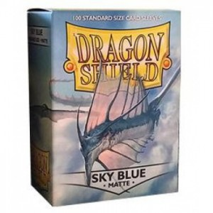 Dragon Shield Matte Sky Blue (100 szt.)