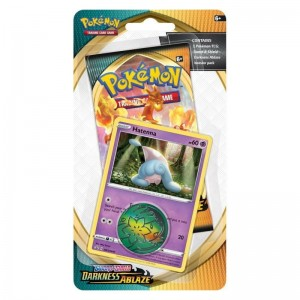 Pokemon Darkness Ablaze Checklane Blister HATENNA