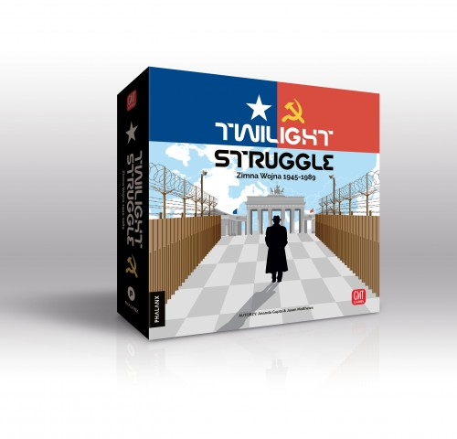 Twilight Struggle ZIMNA WOJNA Deluxe Edition