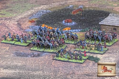 Pułk dragonów polowych, Mos-14