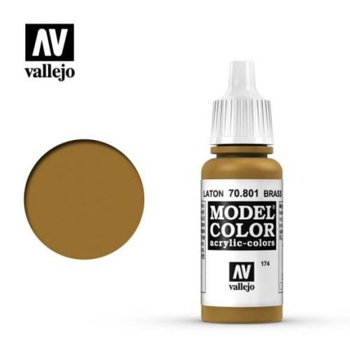 Vallejo Model Color 174. Brass 70.801 17ml