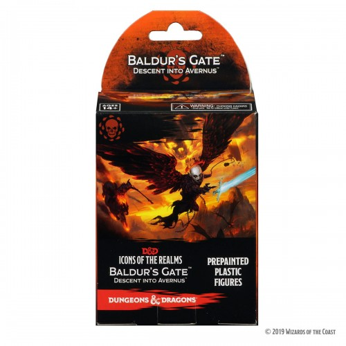 D&D - Icons of the Realms - Baldur's Gate Descent Into Avernus booster