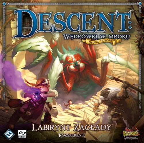 Descent: Wędrówki w mroku - Labirynt Zagłady (rozszerzenie)