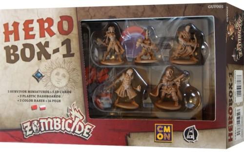 Zombicide: Czarna plaga - Hero Box-1