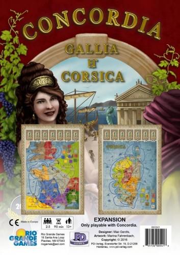 Concordia: Gallia /Corsica