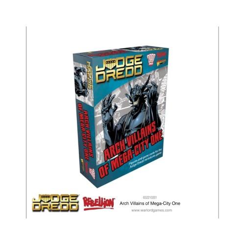 Judge Dredd: Arch Villains of Mega City 1