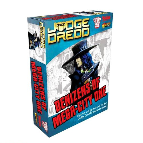 Judge Dredd: Denizens of Mega City