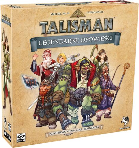 Talisman: Legendarne opowieści + Druid i karty promo