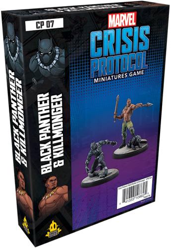 Marvel: Crisis Protocol - Black Panther and Kilmonger