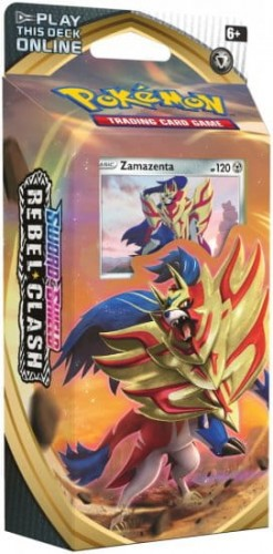 Pokemon TCG: Sword & Shield Rebel Clash - Zamazenta Talia