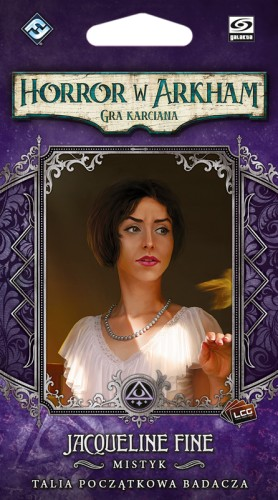 Horror w Arkham: Gra karciana - Jacqueline Fine