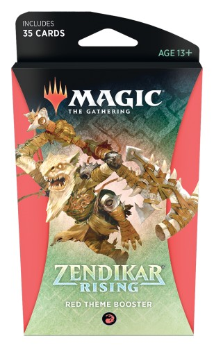MtG: Zendikar Rising Red Theme Booster
