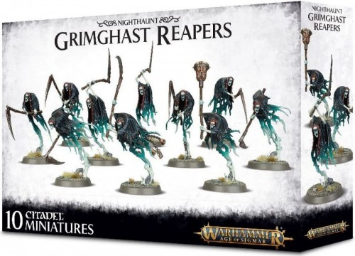 Nighthaunt - Grimghast Reapers
