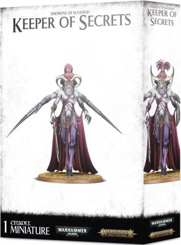 Daemons of Slaanesh - Keeper of Secrets